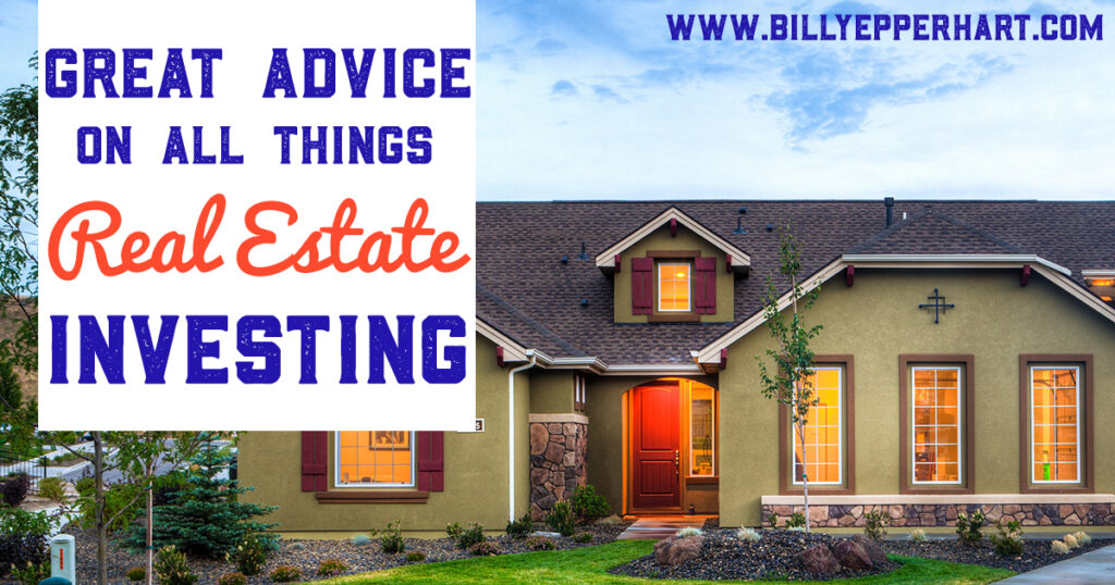 Here is some great advice on all things real estate investing from a guest blogger, Jeff Summers!