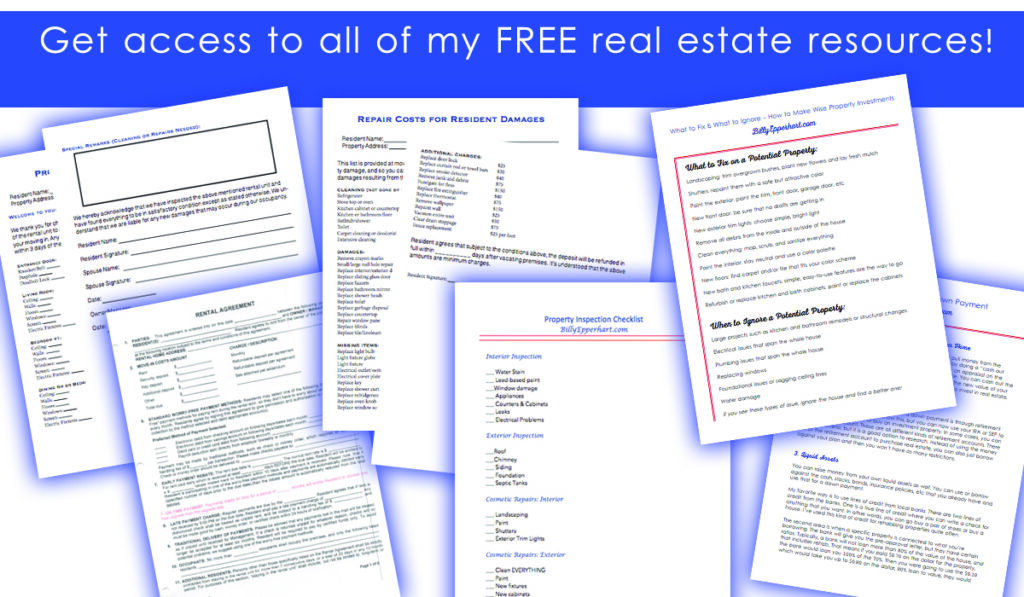 free real estate resources