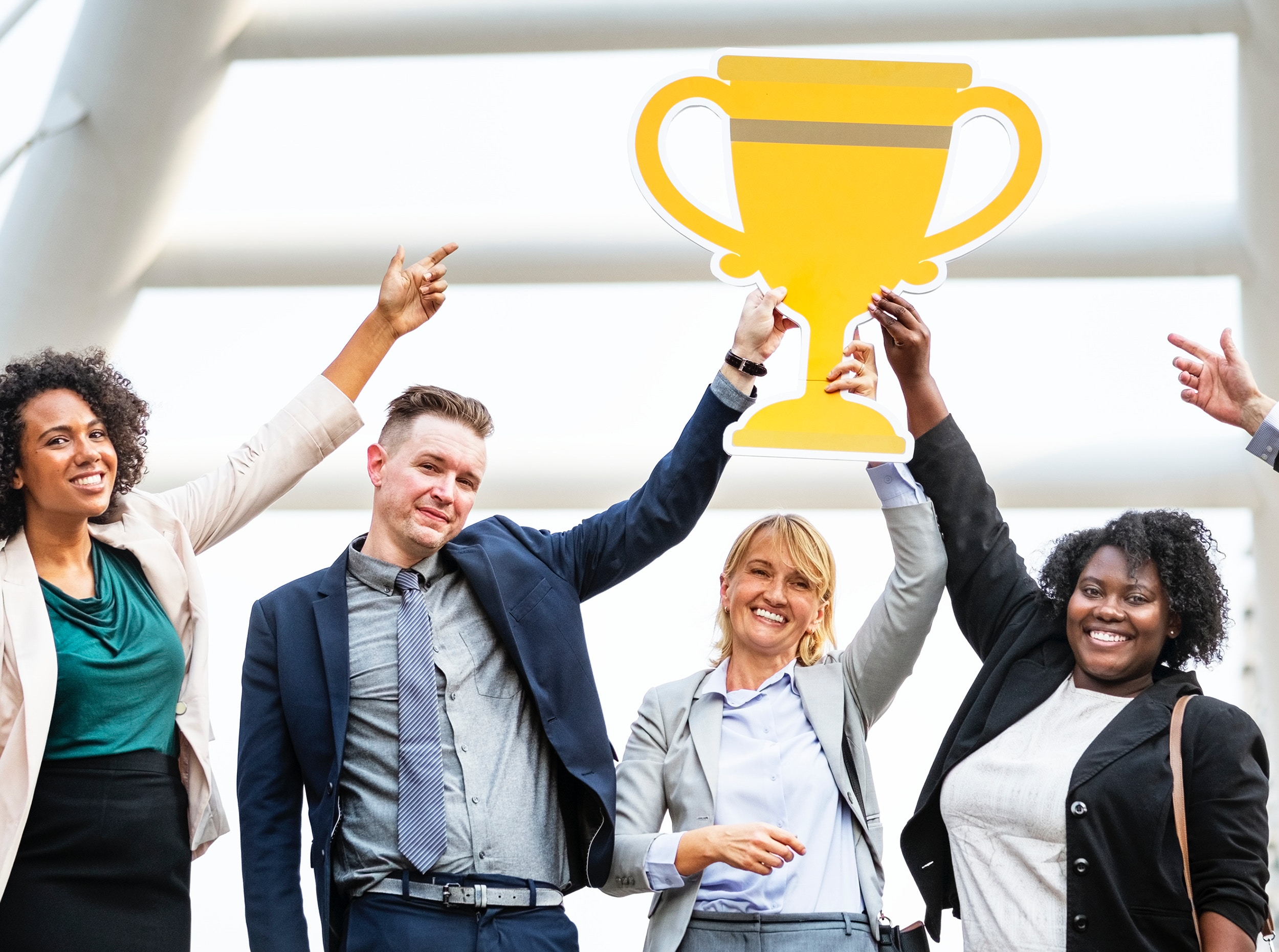 win in the business world